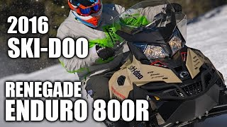 TEST RIDE: 2016 Ski-Doo Renegade Enduro 800R