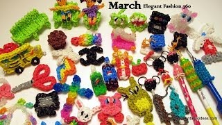 Rainbow Loom Pattern Designs: March 2014 Collections by Elegant Fashion 360