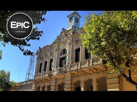 Quick City Overview: San Andrés de Giles - Buenos Aires, Argentina (HD)