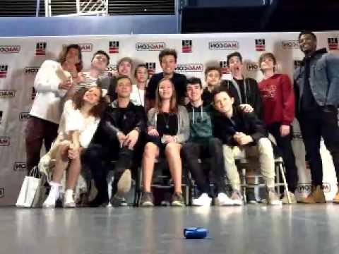 MagconTour — YouNow Broadcast 2/04/2016