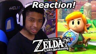 The Legend of Zelda: Link's Awakening Reaction! (Nintendo Direct E3 2019!)