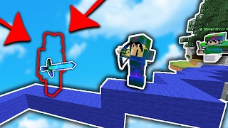 This OP STRAT WILL RUIN Minecraft BED WARS... (MINECRAFT TROLLING)