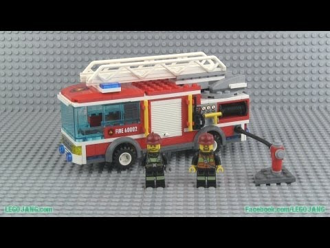 LEGO City Fire Truck 60002 build & review!