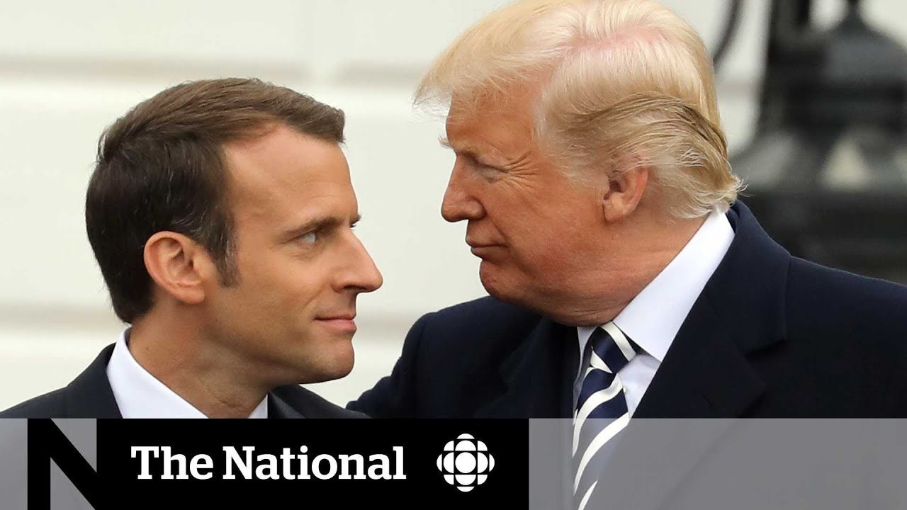 Macron trip marks 1st state visit for Trump White House