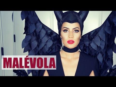 Maquiagem Malévola pro Halloween (Angelina Jolie)
