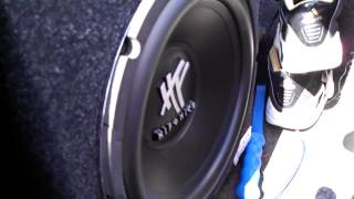 """2 hifonics HFX12D4 12"""" subs from hifonics with amp HFi1000D Budget System"""
