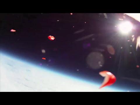 Inventos caseros - Iphone enviado al espacio
