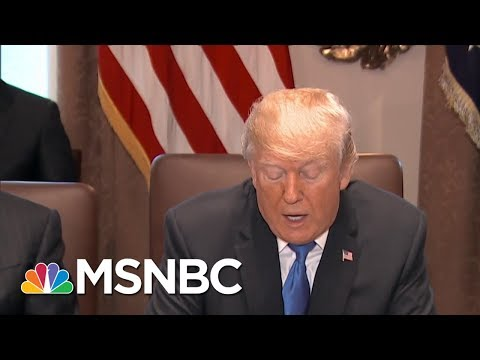 President Donald Trump: People Are Starting To See How 'Great' Tax Bill Is | MSNBC