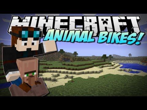 Minecraft   ANIMAL BIKES! (Ride every single mob!)   Mod Showcase [1.5.2]