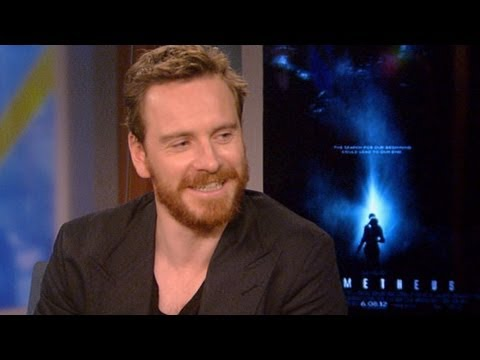 Michael Fassbender Interview on 'Prometheus' Character's Android Privates, Heavy Metal  Music Dreams