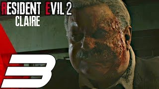 Resident Evil 2 Remake - Claire Walkthrough Part 3 - Electronic Parts & Orphanage (Hardcore Mode)