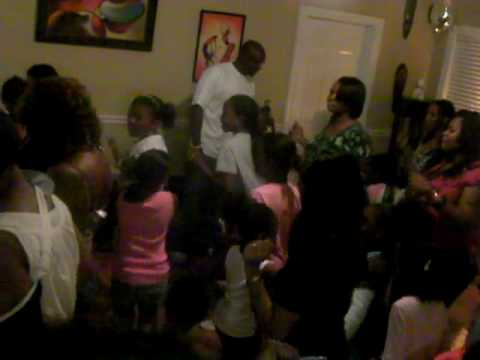 Cupid Shuffle By Kids At Kk's 5th B-day Party video