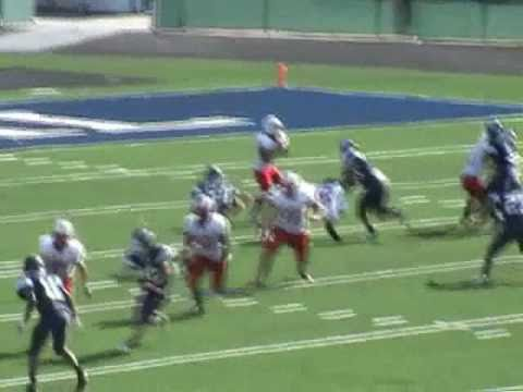 Matt Morales Class 2011 Central Catholic High School  2010  Football Highlights