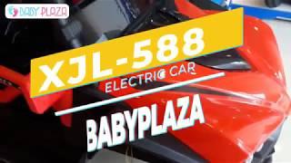 Xe oto điện cỡ lớn cho bé XJL-588 có quạt gió Baby Plaza