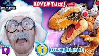 HobbyHarry's Jurassic World Adventure Toy Hunt with HobbyKidsTV