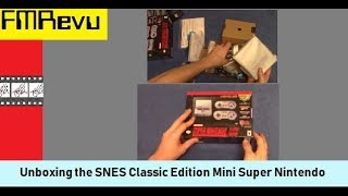 Unboxing SNES Classic Edition Mini Super Nintendo | 2018 Spring \ Summer Stock Is In!!!!!