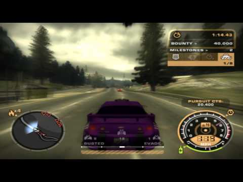Need for Speed™ Most Wanted 2009 Police Pursuit Level 4 Extreme...