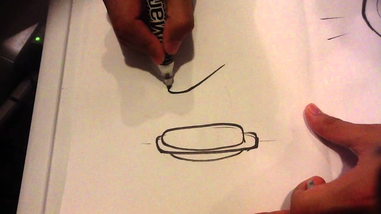 Hot Dog Drawing How to Draw a Hot Dog Easy