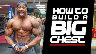 HOW TO BUILD A BIG CHEST | Simeon Panda