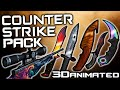 download mp3 dan video Sniper Bow Challenge Texture Pack: CSGO Minecraft PvP TEXTURE PACK ANIMATED 3D 1.8.9, 1.8/1.7
