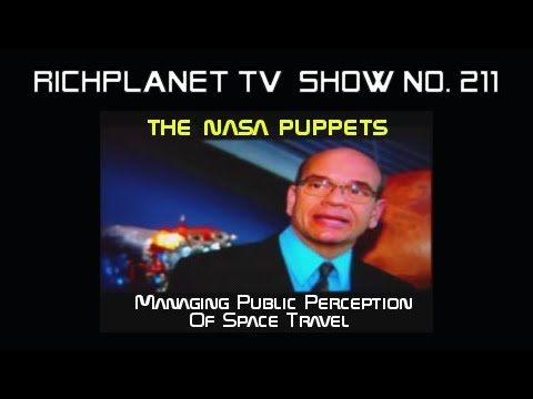 NASA/CIA Puppets & Space Travel Perception Management - 2 of 4
