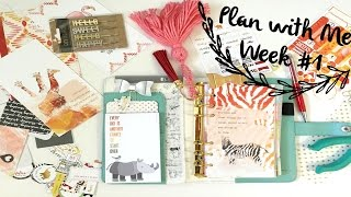 January Planner Set Up & Plan with Me- January 2016 | OhSoFawn