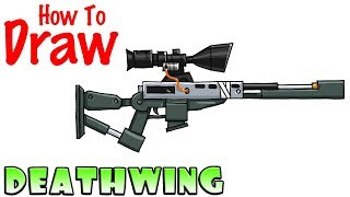 How to Draw Deathwing Sniper Rifle | Fortnite