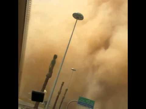 Sandstorm In SAUDI ARABIA on 1 APRIL 2015