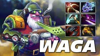 WAGA Sniper Assassin | Dota 2 Pro Gameplay