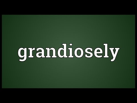 Header of grandiosely