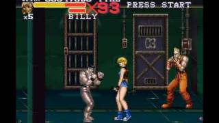 Final Fight 3 Lucia Gameplay 1/2