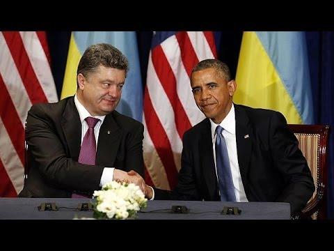 Poroshenko avistou-se com Obama em Varsóvia