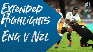 Extended Highlights: England v New Zealand - Rugby World Cup 2019