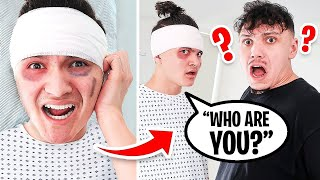 I LOST MY MEMORY PRANK ON BROTHER (emotional)