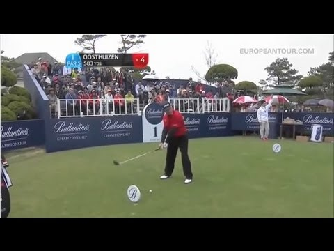 Louis Oosthuizen's 500 yard drive