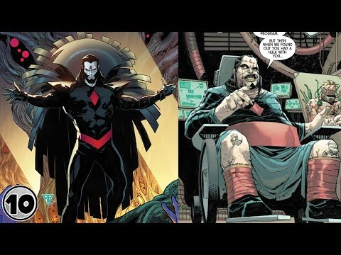 Top 10 Super Powers You Didn't Know Mr. Sinister Had