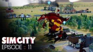 SimCity :: Episode 11 :: Godzilla!!