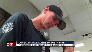 Turkey in smoker blamed for Largo house fire