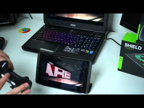 NVIDIA SHIELD Tablet, SHIELD Controller, and GameStream Hands-on