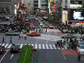 Saturday afternoon at Shibuya Crossing, Tokyo