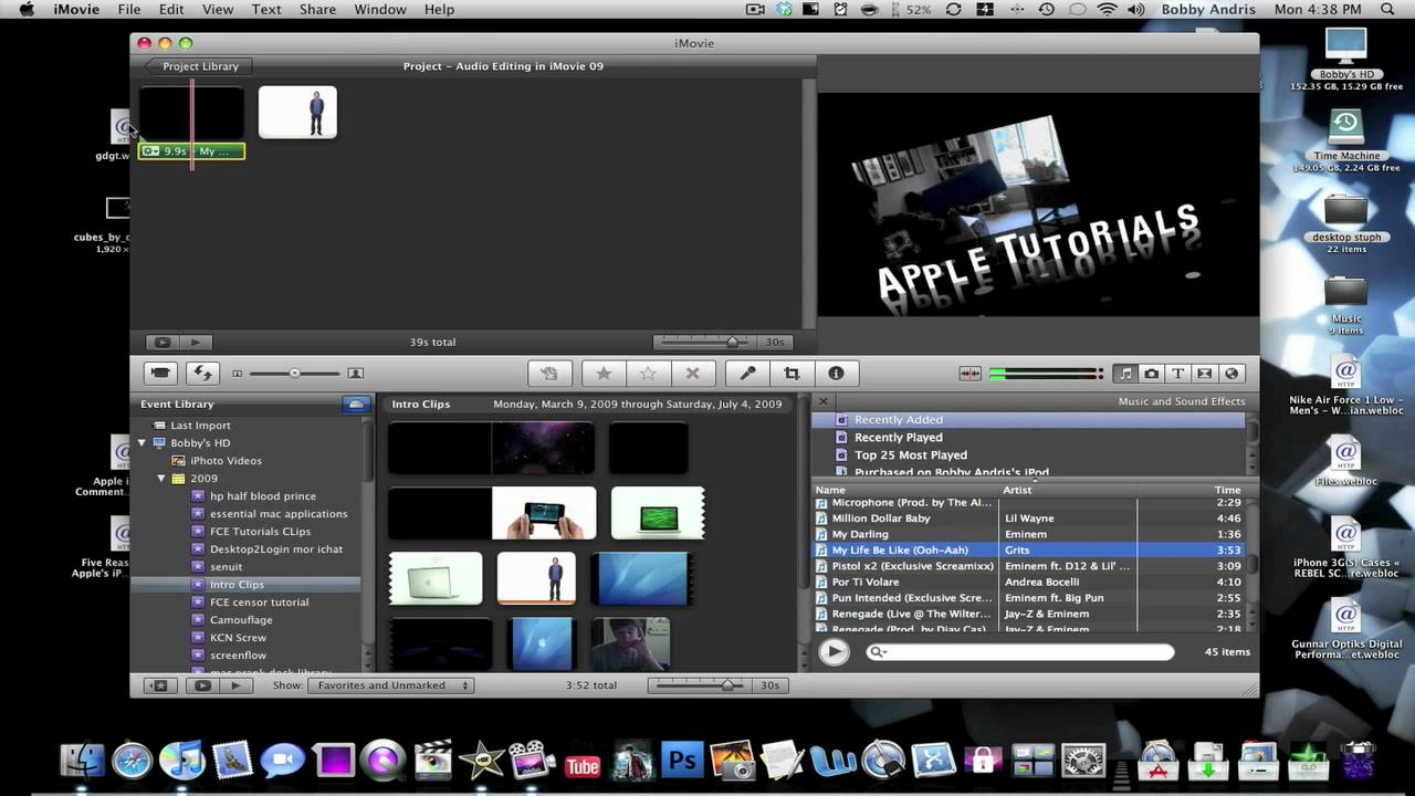 How To Add Sound Effects In Imovie 09
