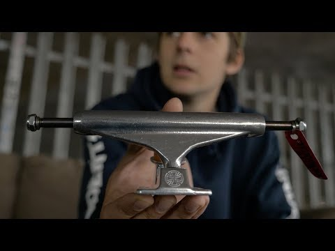 Sidewalk Skate 100 2017: Independent 149 Stage 11 Forged Titanium Trucks with Ollie Lock.