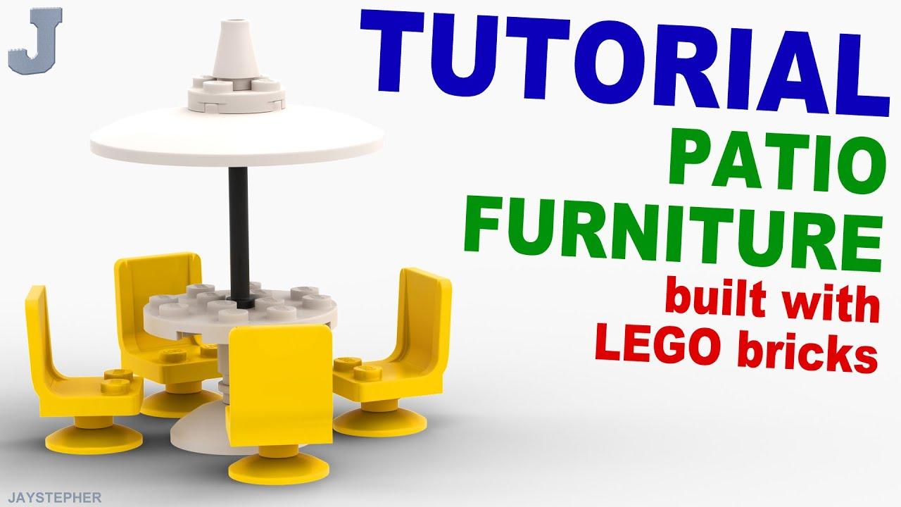 Tutorial Lego Patio Furniture [CC]
