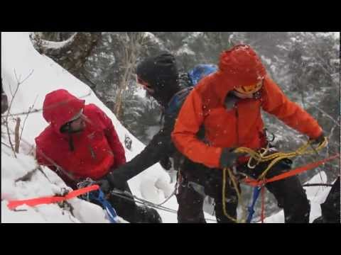 Munising, Michigan Ice Climbing Trip 2011