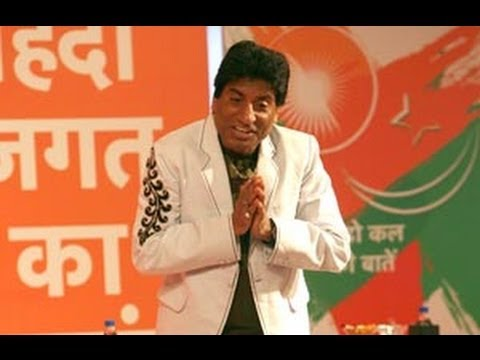 When Raju Shrivastav Mimicked Lalu Yadav In Front Of Him video