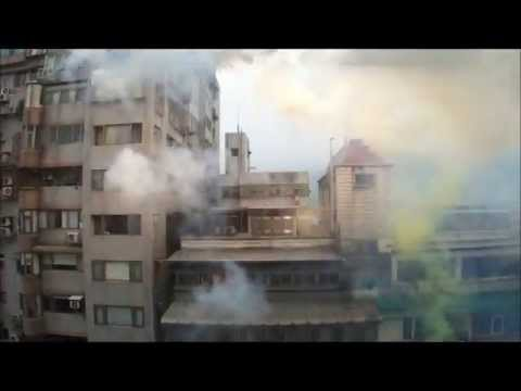Explosion just in front of window - 2013 firework