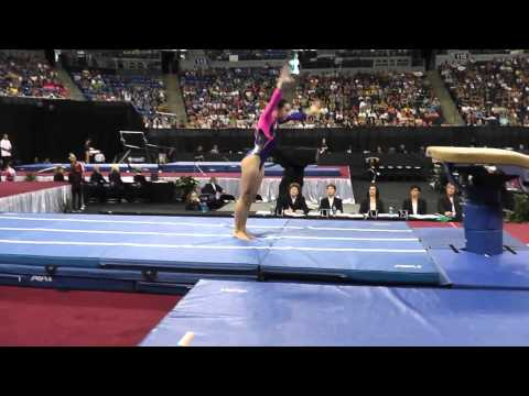 Amelia Hundley - Vault - 2012 Visa Championships - Jr. Women - Day 2
