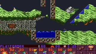 Lemmings 2 (PC) Highland lvl 10: all saved