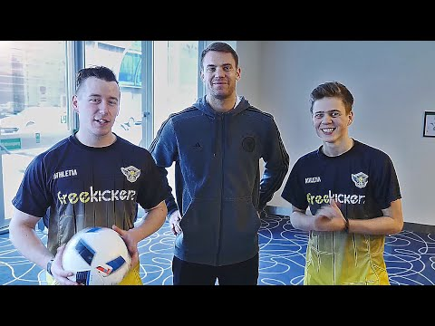 Football Challenge vs Manuel Neuer
