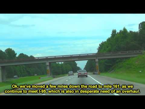 I 26 East Orangeburg County SC MM 145 - 172